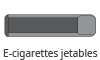 E-cigarettes Jetables
